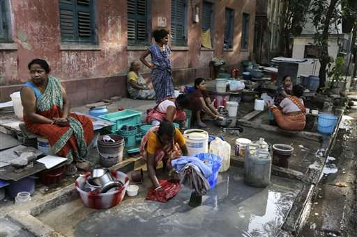 India has the most people without clean water, report says