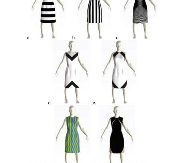 Researcher finds optical illusion garments can improve body image