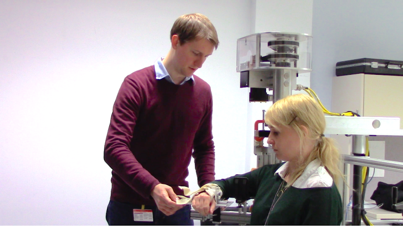 Researchers use video gamelike test to study learning and recovery in stroke patients