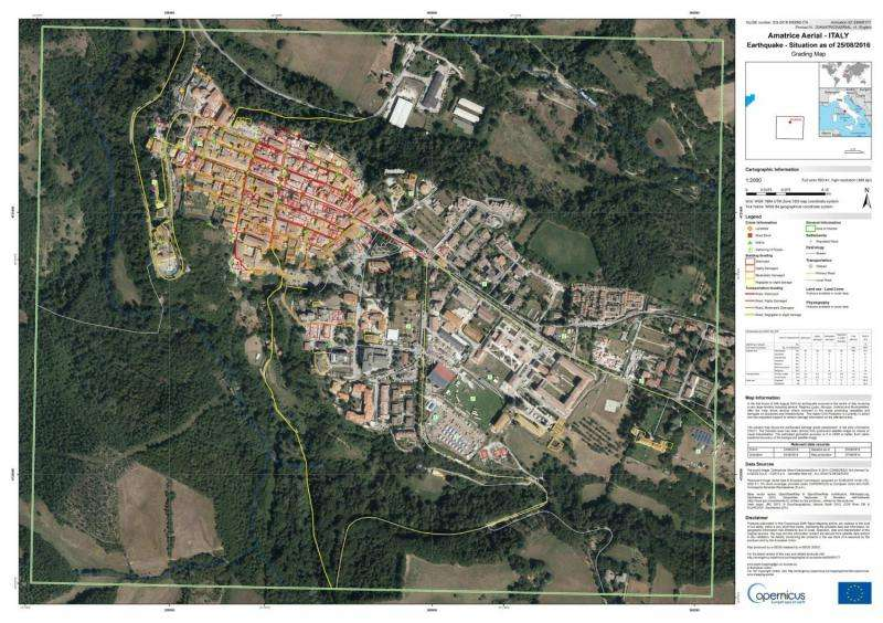 Satellite images reveal full extent of destruction following Italy's earthquake