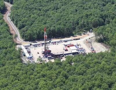 Constructing shale gas sites