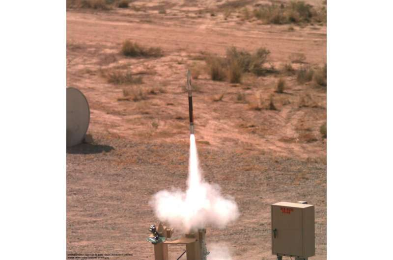 Lockheed Martin's mighty mini-missile successfully completes second flight tes