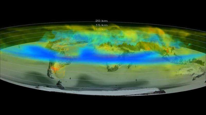 NASA releases new eye-popping view of carbon dioxide