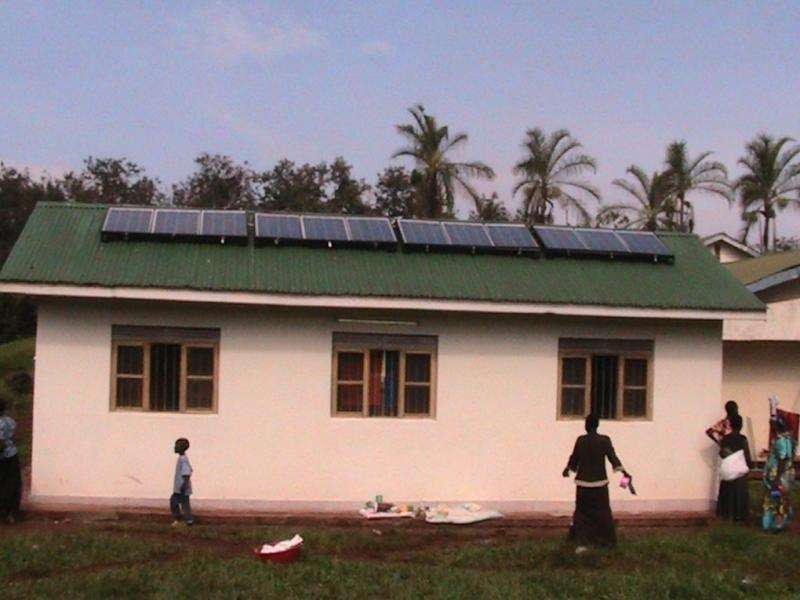 Solar-powered oxygen delivery system saves lives in Uganda