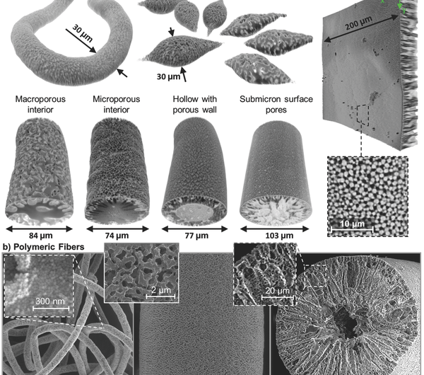 Team devises easier way to make 'bijels,' a complex new form of liquid matter