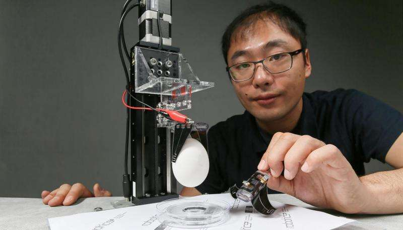 Robotic fingers with a gentle touch