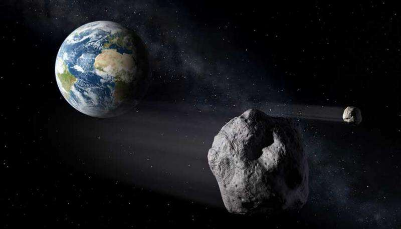New research explores asteroid deflection using spacecraft to crash into body at high speeds