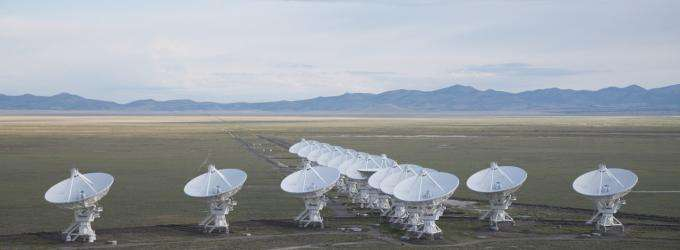 Fast radio burst 'afterglow' was actually a flickering black hole