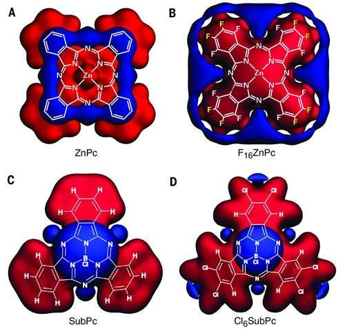Study shows band structure engineering is possible with organic semiconductors