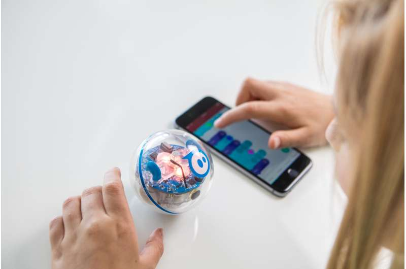 SPRK+ robot for coding and connected play is kid-friendly and school-friendly