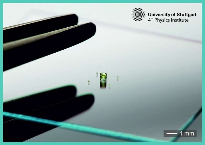 Micro-camera can be injected with a syringe