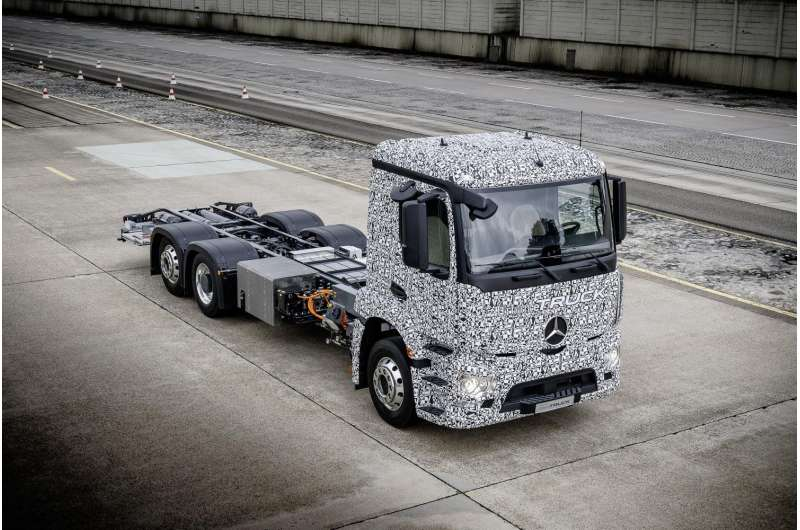 Electric truck news from Stuttgart raises hopes for less pollution and noise