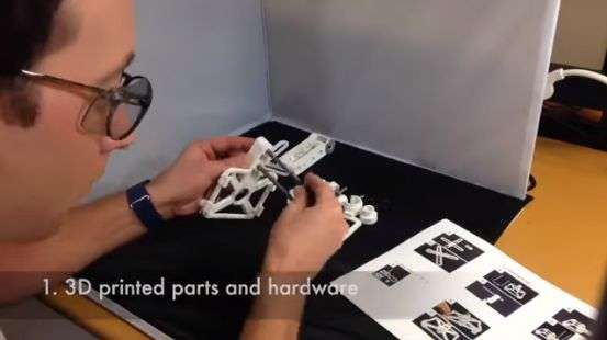 Bioengineer's microscope features interactive microbes