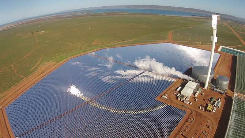 Food future is now with Australia farm producing tomatoes on sea water and mirrors