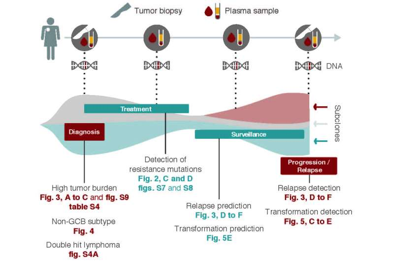 DNA sequencing determines lymphoma origin, prognosis