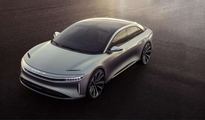 Electric car fever: Heat rises at unveiling of Lucid Air, watch for 2018