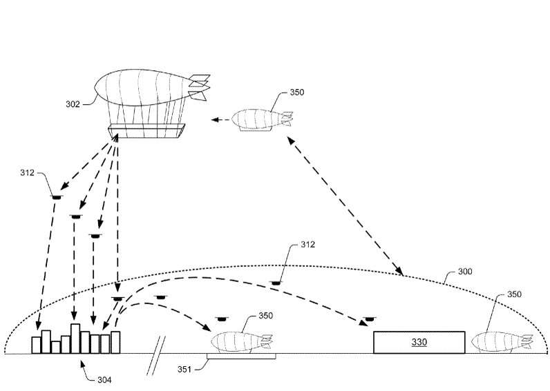 Amazon looks at airships as fulfillment idea in patent filing