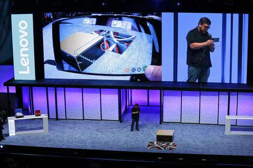 Lenovo, Google unveil phone that knows its way around a room