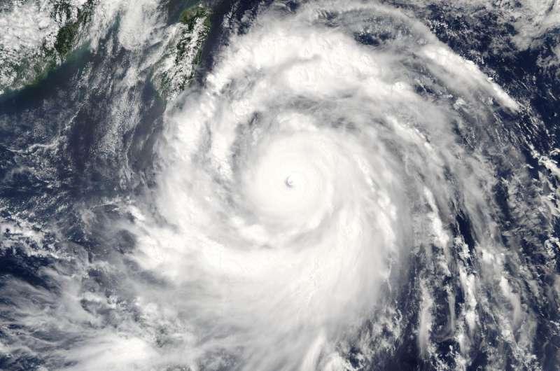 NASA's Aqua satellite sees Super Typhoon Meranti approaching Taiwan, Philippines