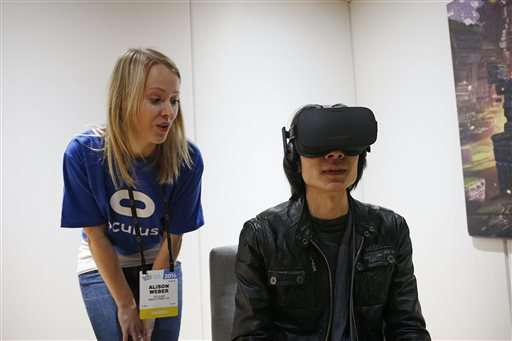 For virtual reality makers, a new version of an old struggle