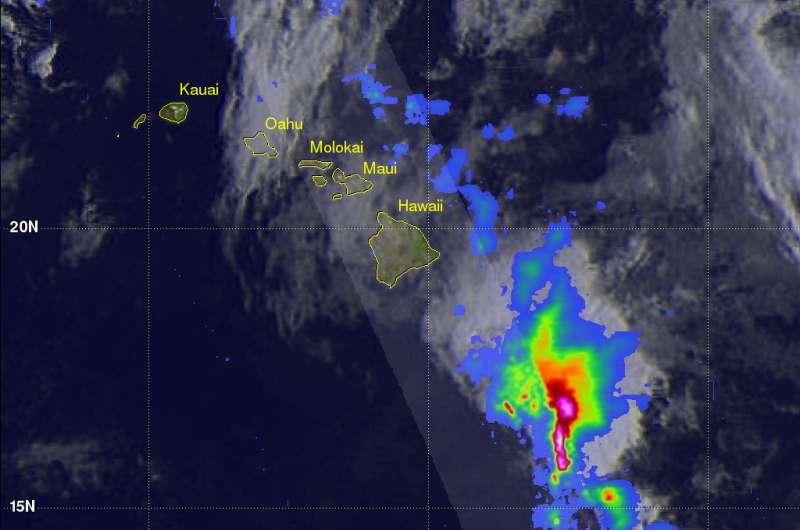 NASA measures altitudes of Hawaii's rain, snow