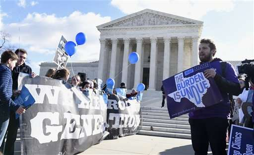 Abortion debate returns to depleted Supreme Court