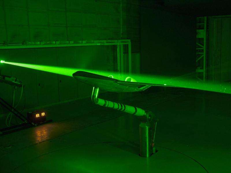 A laser-sharp view of blended wing body plane design