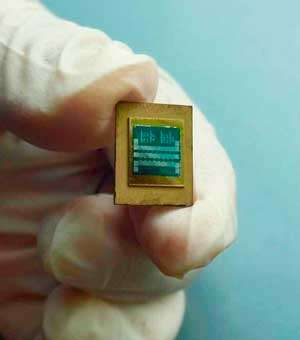 A layer of diamond can prevent high-power electronic devices from overheating