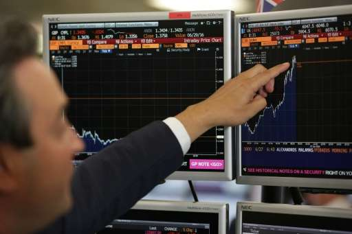Algorithms mean currencies and stocks can be bought and sold at specific prices in a matter of seconds