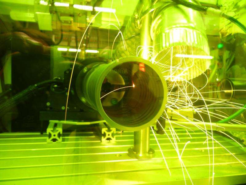 A little light construction—laser welding in three acts