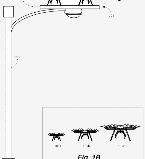 Amazon has bold and bright ideas for delivery rest stops for drones