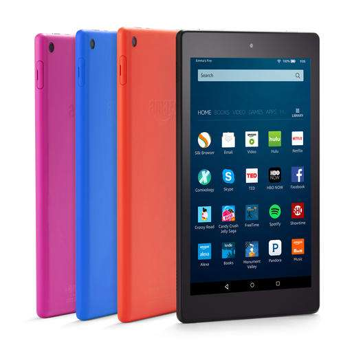 Amazon slashes price, adds Alexa to new Fire tablet (Update)