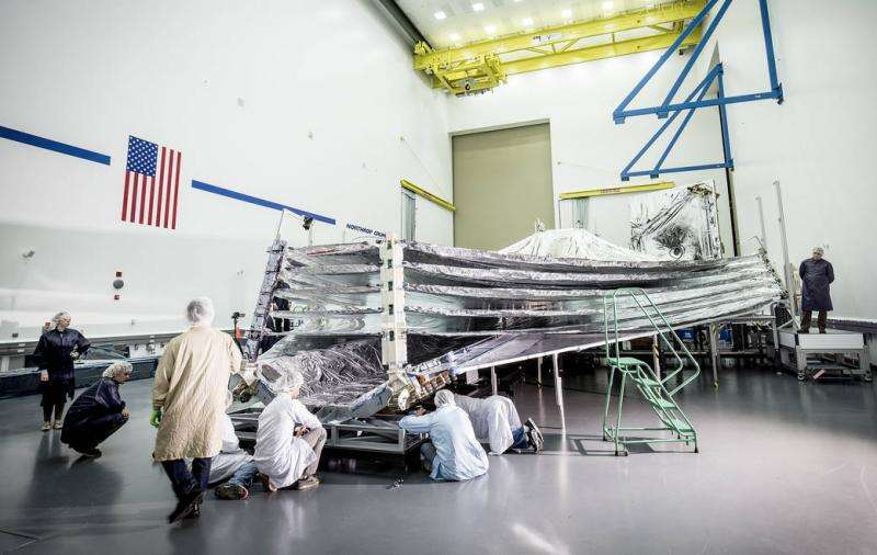 A mechanical harmony to NASA's Webb Telescope sunshield