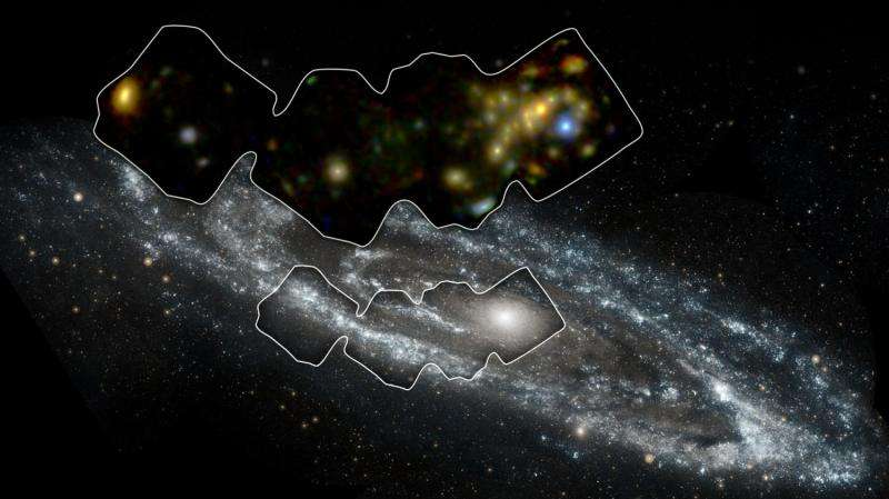Andromeda galaxy scanned with high-energy X-ray vision