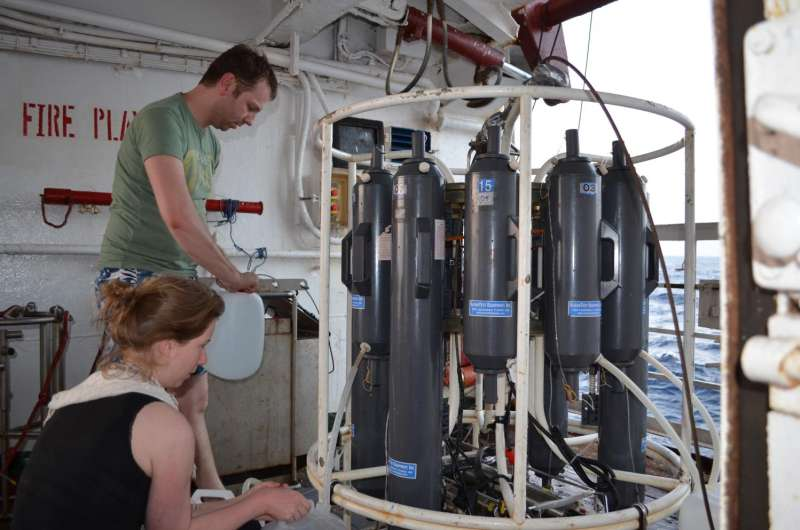 A new dead zone in the Indian Ocean could impact future marine nutrient balance