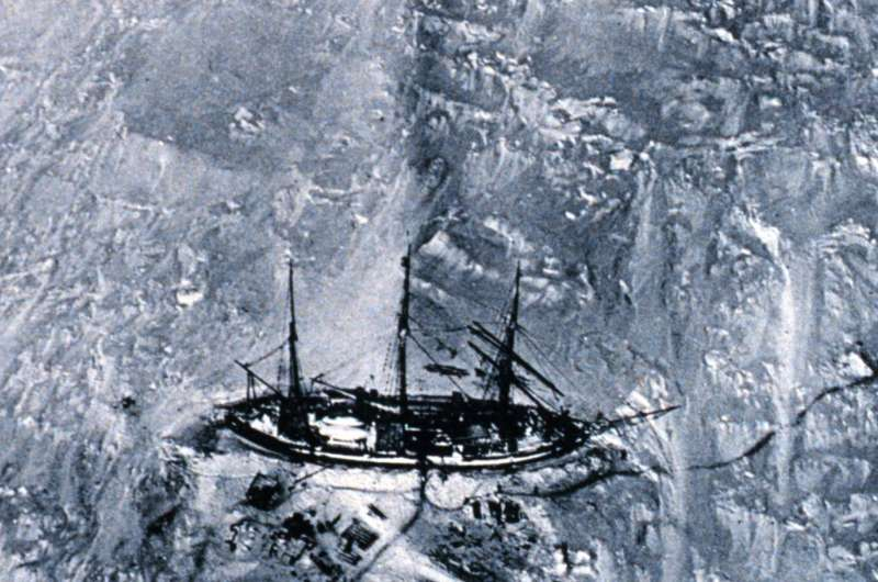 Antarctic explorers help make discovery -- 100 years after their epic adventures