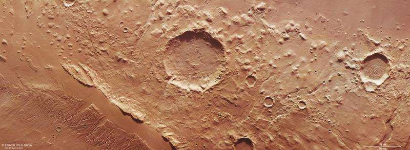 A record of ancient tectonic stress on Mars