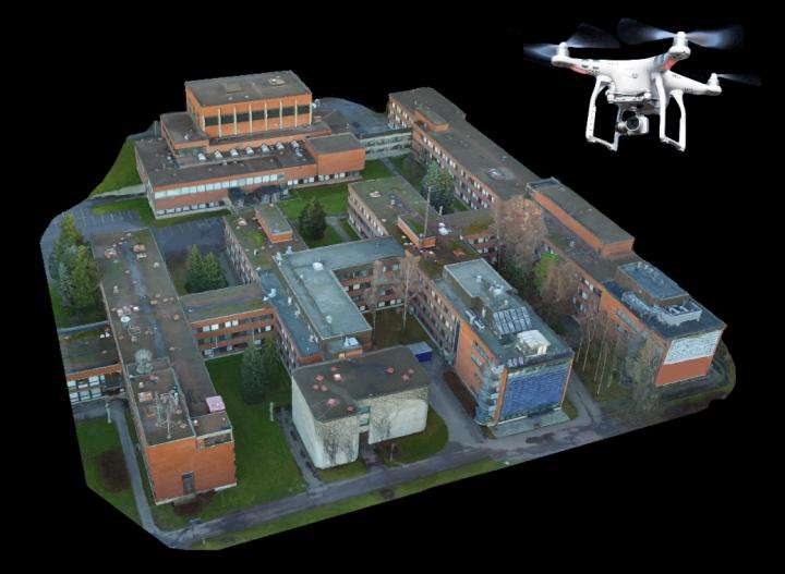 A remote-controlled drone helps in designing future wireless networks