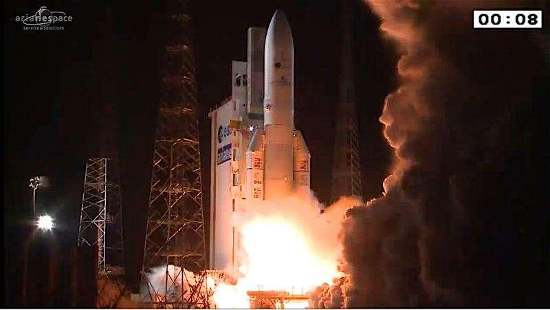 Ariane 5 launch contributes to Ariane 6 development