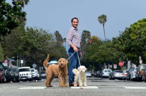 At DogVacay in Santa Monica, a sort of Airbnb for pets, co-founder Aaron Hirschhorn says he has never looked back on his decisio