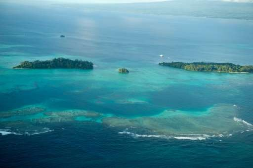 At least 11 islands across the northern Solomon Islands have either totally disappeared over recent decades or are currently exp