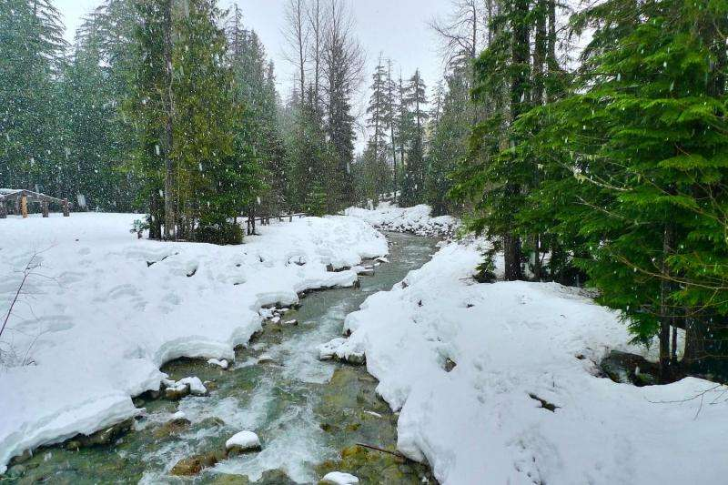 Atmospheric river storms can reduce Sierra snow