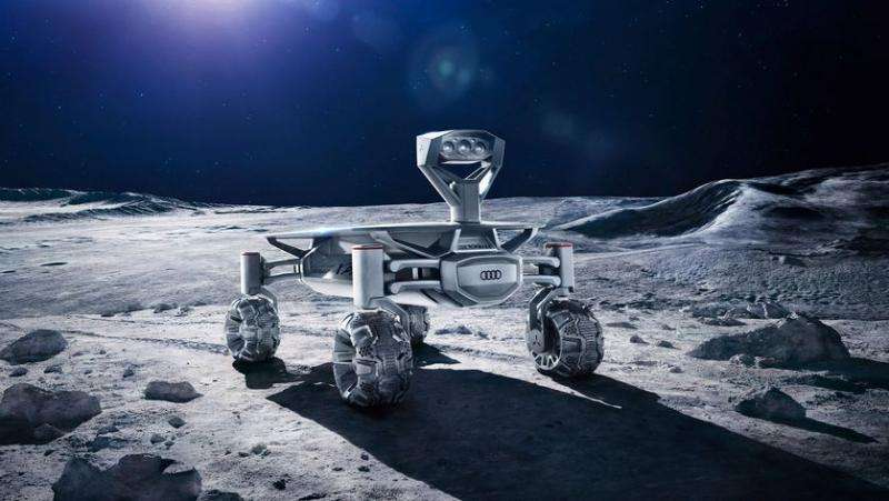 Audi lends engineering know-how to moon rover initiative