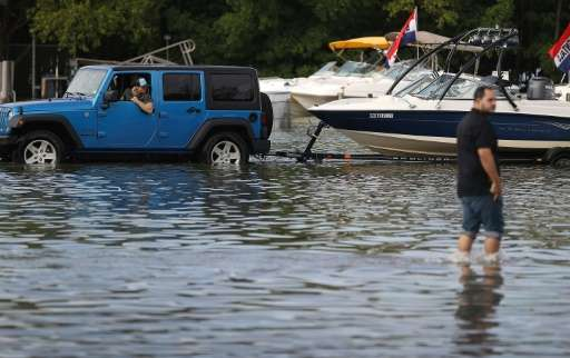 A US report showed that high-tide flooding in Florida may have been caused by rising sea levels due to climate change