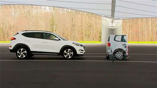 Automatic braking for cars: Private talks on technology pace