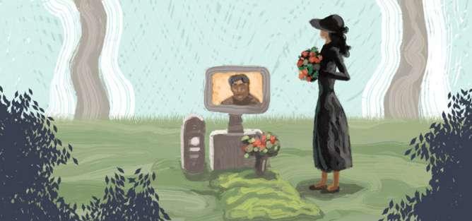 A widow's battle to access her husband's Apple account