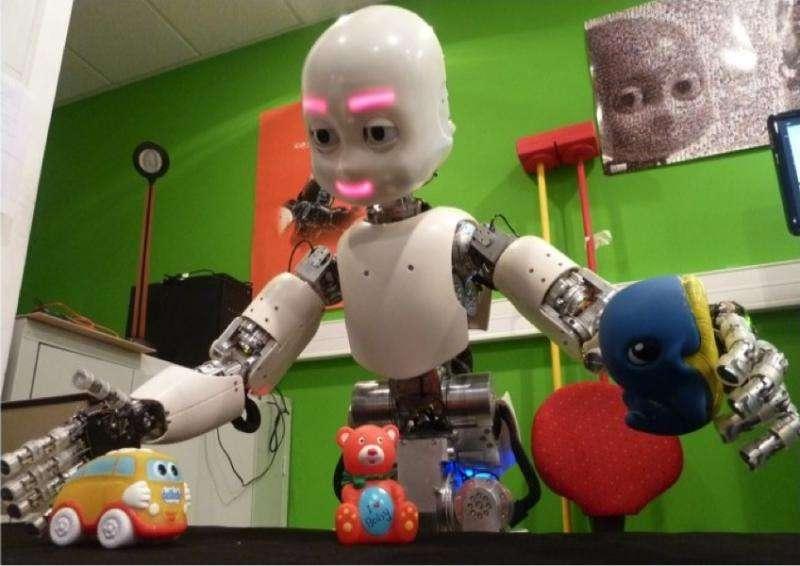 Baby robots help humans understand infant development