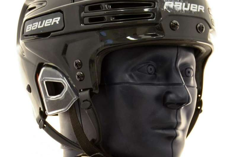Bauer RE-AKT 75 is the best performing hockey helmet on the consumer market