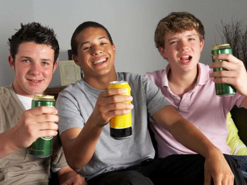 Booze-branded merchandise may spur teen drinking