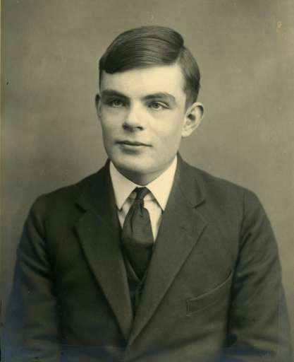 British mathematician and computer scientist widely considered to be the father of modern computing, Alan Turing (1912-1954)